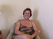 48yr old White Whore Wife Deena Sucks Fucks 3 BBC's