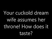 Cuckold Dream Wife assumes her throne!