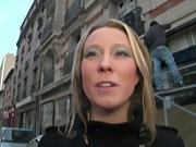 French milf cheats on her husband with us