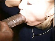 Little white slut gets bred