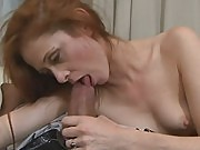 Huge surprise for 40yo redhead cheating wife