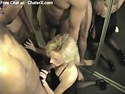 Hot Wife Holly Gangbanged and Creampied by 4 Black Guys freePart1