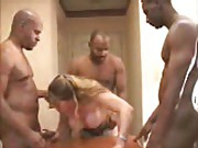 wife white black gang bang