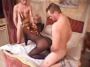 Another masked wife in a threesome