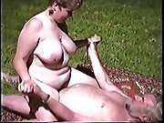 mate fucking wife outside
