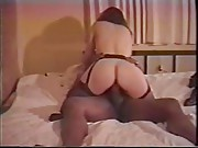 Curvy wife fucks her black lover